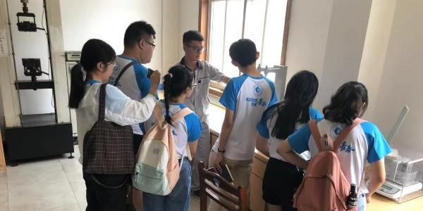 [三角带厂家]——联农,欢迎安徽师范大学的学生参观