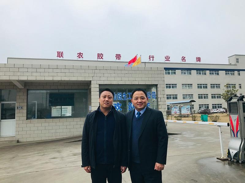 河北英虎总经理李侠参观公司 (9)
