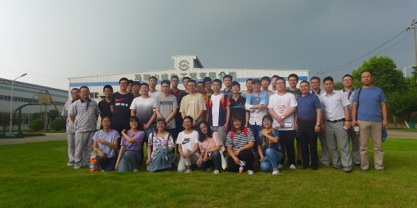 [三角带厂家]——联农欢迎青岛科技大学参观