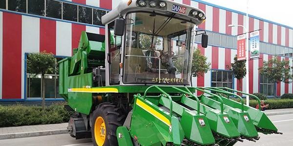 [三角带厂家]——锐生公司带您了解玉米收割机增长下的行业竞争加剧