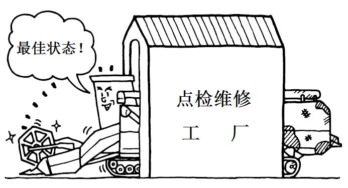 收割机维护3